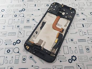 Уценка. Дисплей HTC One mini 2 модуль черный Сервисный оригинал с разборки