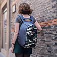 """Рюкзак городской с защитой от краж XD Design Bobby Compact 14"""", Camouflage. Green, фото 10"""