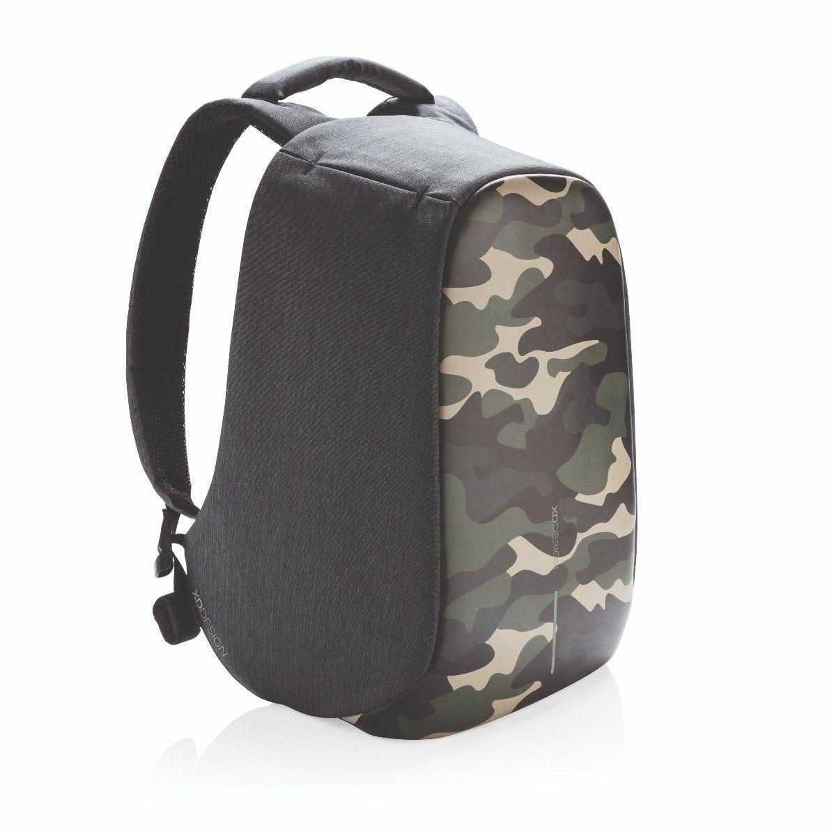 """Рюкзак городской с защитой от краж XD Design Bobby Compact 14"""", Camouflage. Green"""