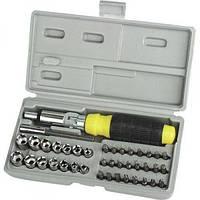 Набор инструмента 41 в 1 Aiwa 41-Piece bit and Socket Set 171547