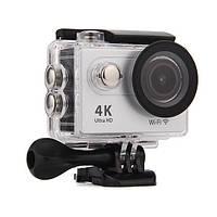 Action Camera Eken H9R Ultra HD с пультом (Серебристый)