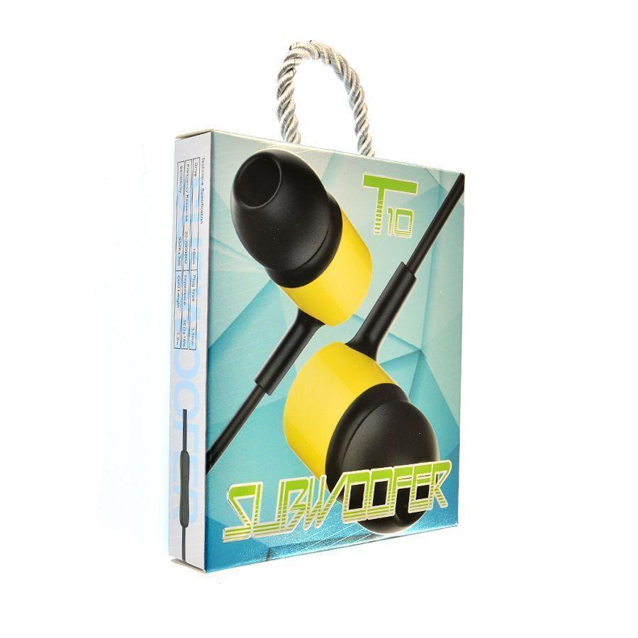 Наушники MP3 T10 Subwoofe