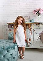 Детское платье нарядное цвет молочный Flavien 7004/01
