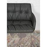 Кресло- банкетка LEON (Леон) тёмно-серое, фото 3