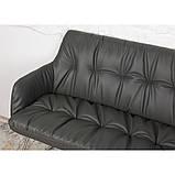 Кресло- банкетка LEON (Леон) тёмно-серое, фото 4