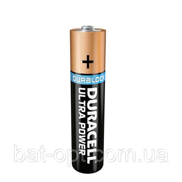 Батарейка щелочная Duracell Ultra Alkaline LR3 AAA с индикатором заряда Powercheck минипальчиковая (блистер)