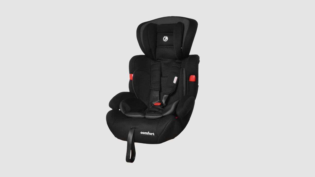 Автокрісло Babycare Comfort BC-11901-1-GRAY. Група I-II-III. Сіре