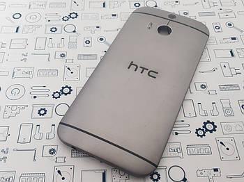 Задняя крышка HTC One M8s серая Сервисный оригинал с разборки