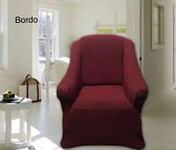 Защитный чехол на диван и кресла, Altinkoza Bordo