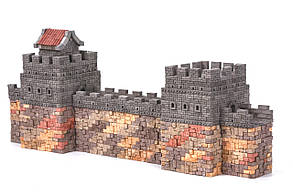Великая китайская стена керамический конструктор | 1530 деталей | Країна замків та фортець