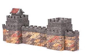 Великий китайський мур | Конструктор з міні-цеглинок | 1530 деталей | Країна замків та фортець