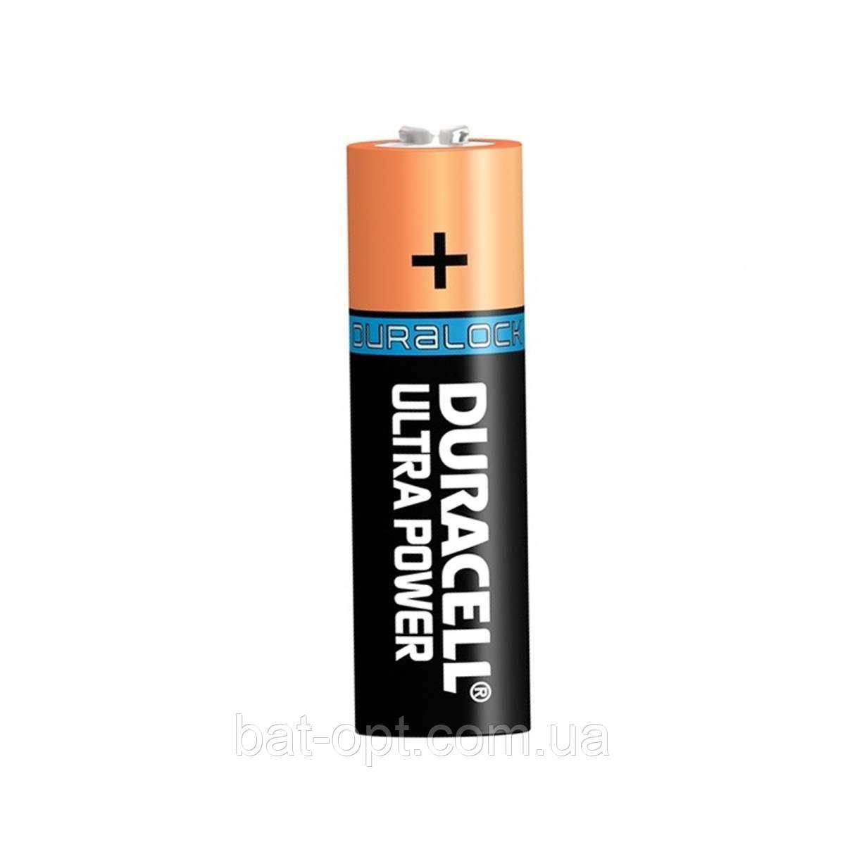 Батарейка щелочная Duracell Ultra Alkaline LR6 AA с индикатором заряда Powercheck пальчиковая