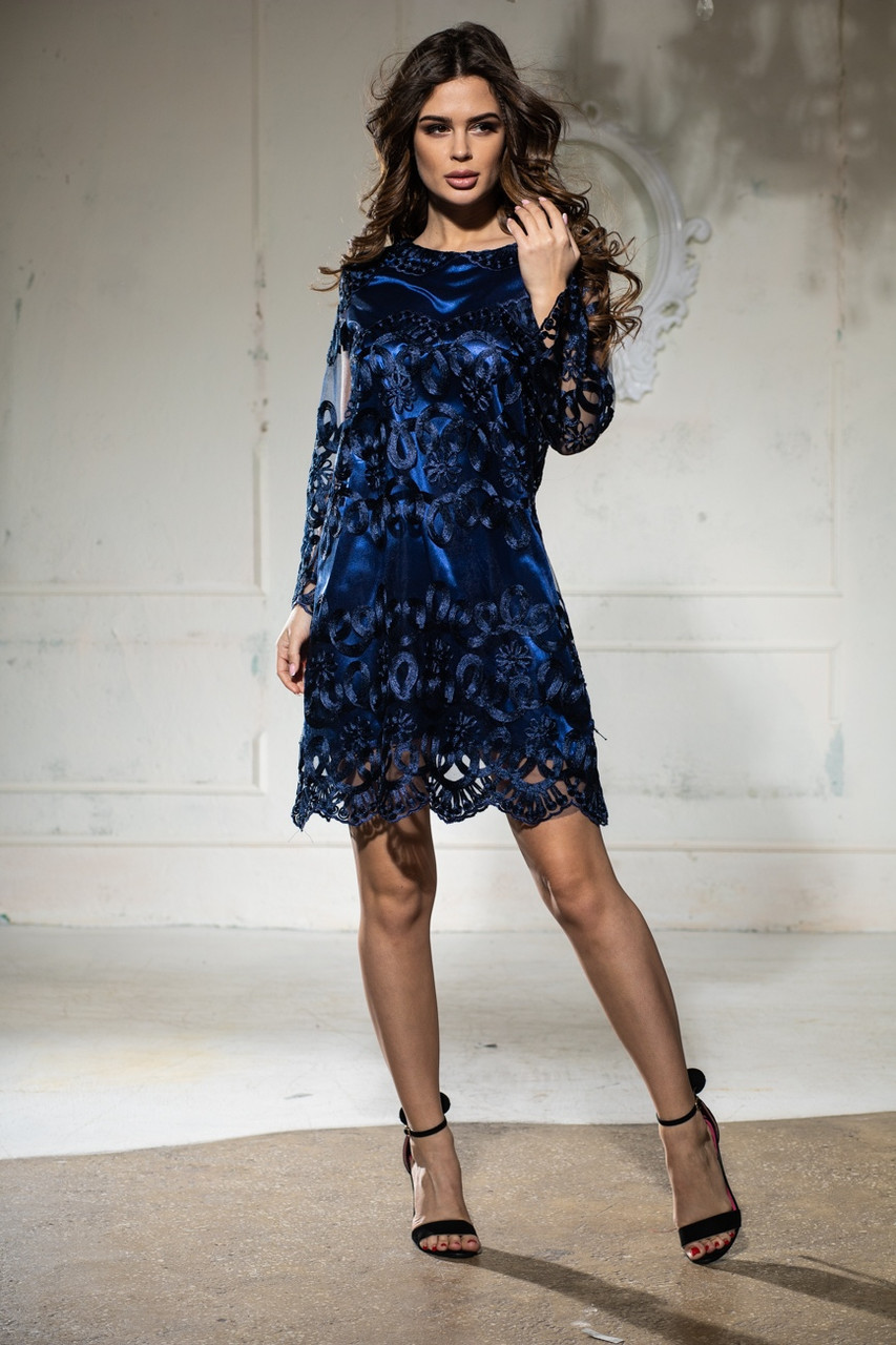 Летнее стильное вечернее платье от производителя