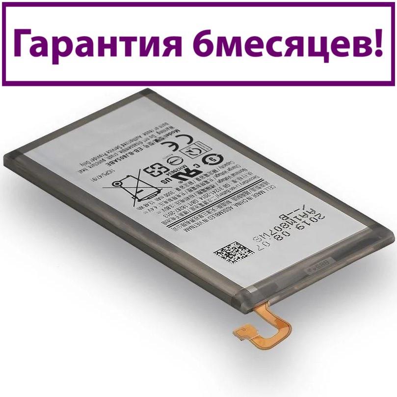 Аккумулятор для Samsung A605 Galaxy A6 Plus 2018 EB-BJ805ABE (AAAA) 3500мА/ч (батарея, батарейка)