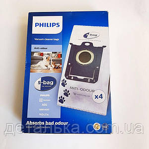 Мешки для пылесоса Philips Anti-Odour FC8023