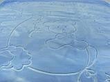 Плед детский Merinos Серо-голубой 100х120, фото 2