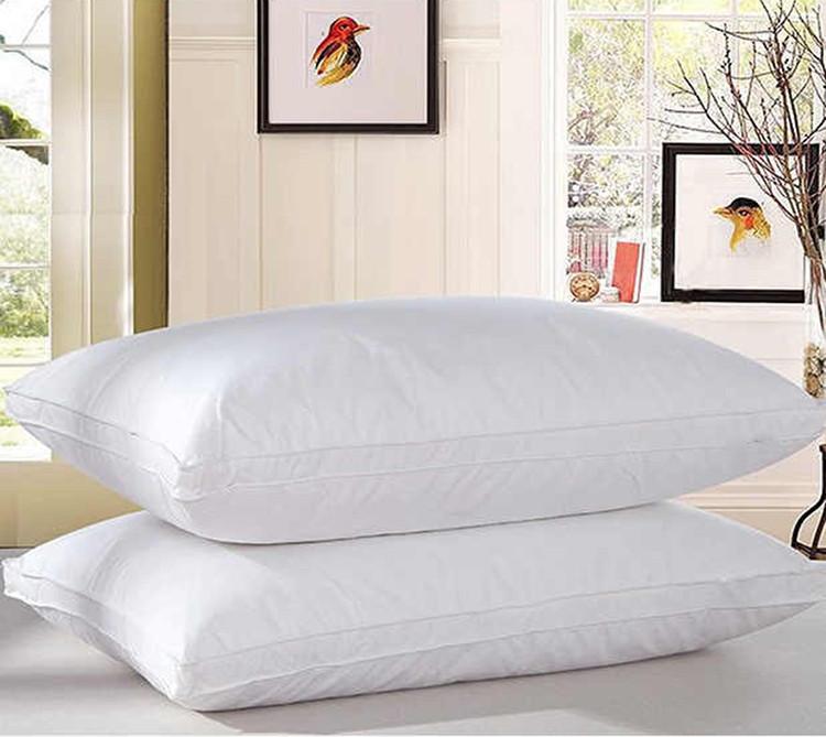 Подушка Белая с бортом 70х70