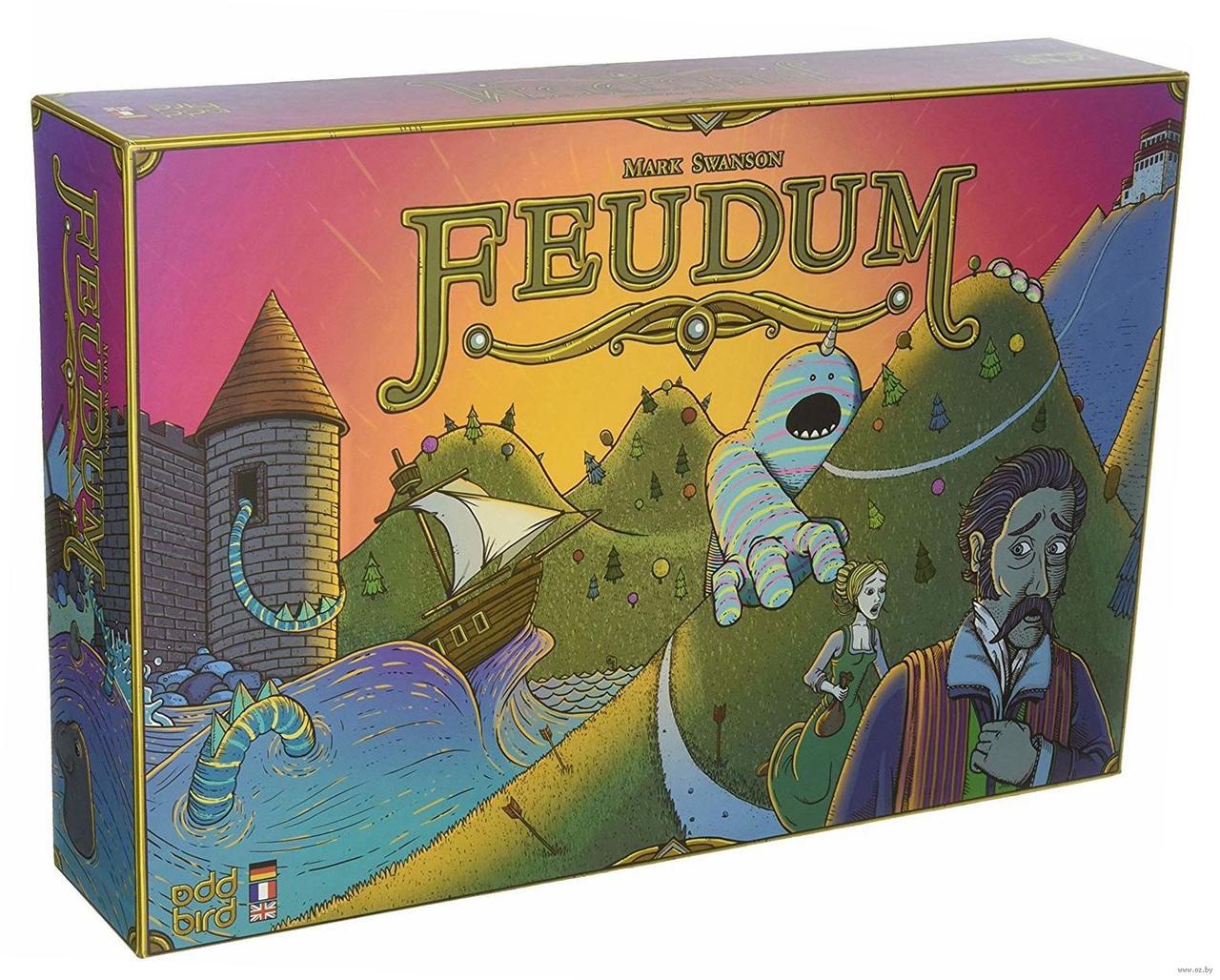 """Настольная игра """"Феод (Feodum)"""" Crowd Games"""
