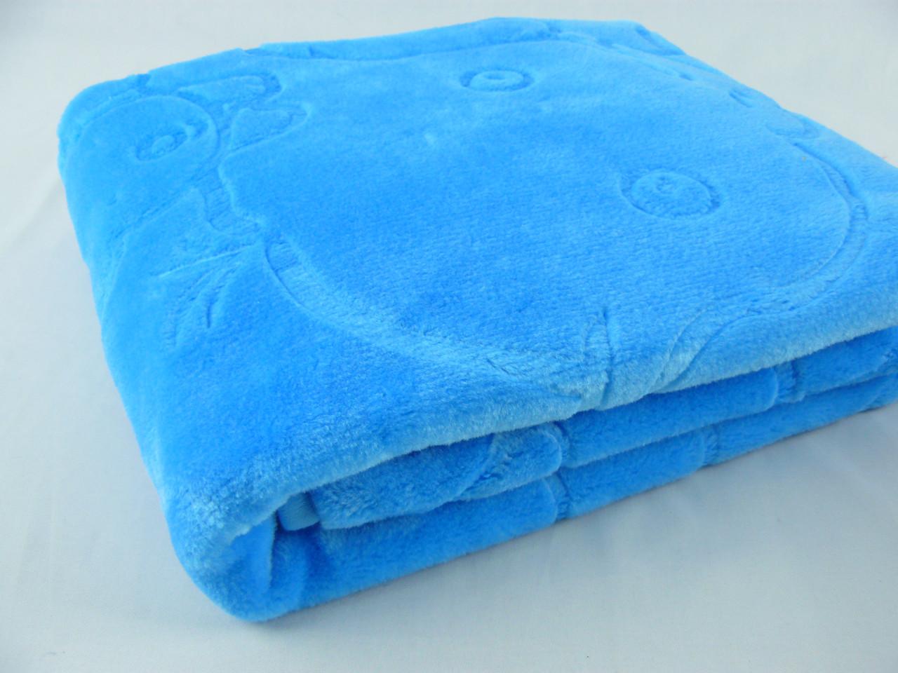Плед детский Padisah синий 100х120