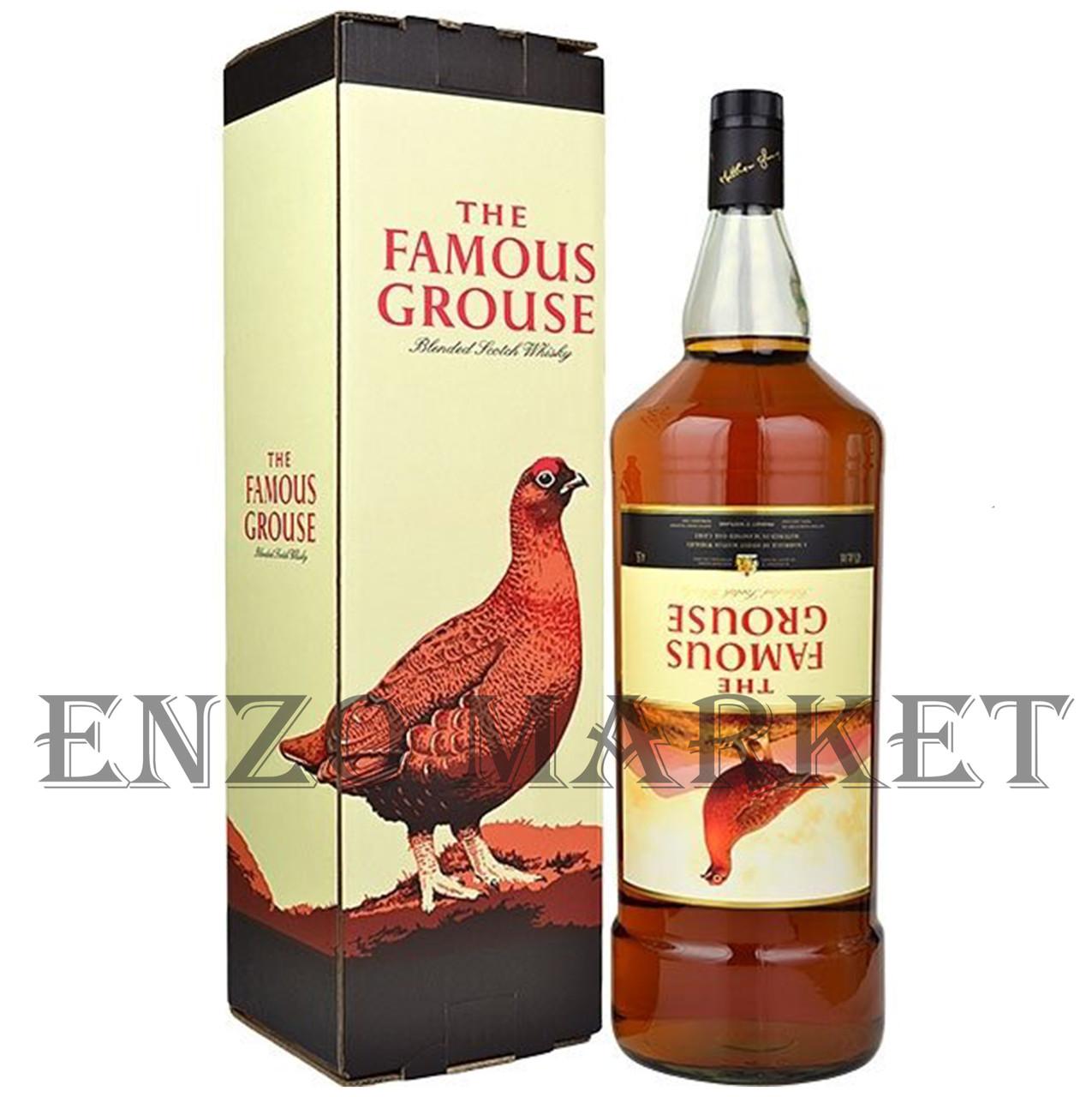 Виски Famous Grouse (Феймос Граус) 40%, 4,5 литра
