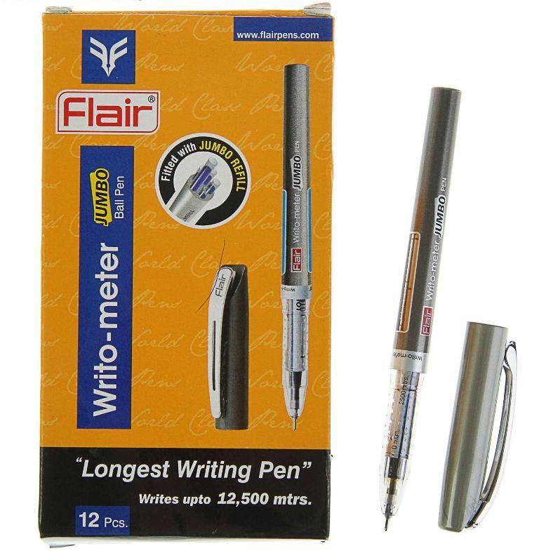 Ручка, шариковая, масляная 12,5 км Flair Writometer Jumbo № 871B