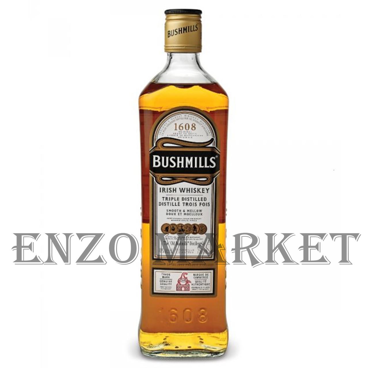 Виски Bushmills Original (Бушмилс Ориджинал) 40%, 1 литр