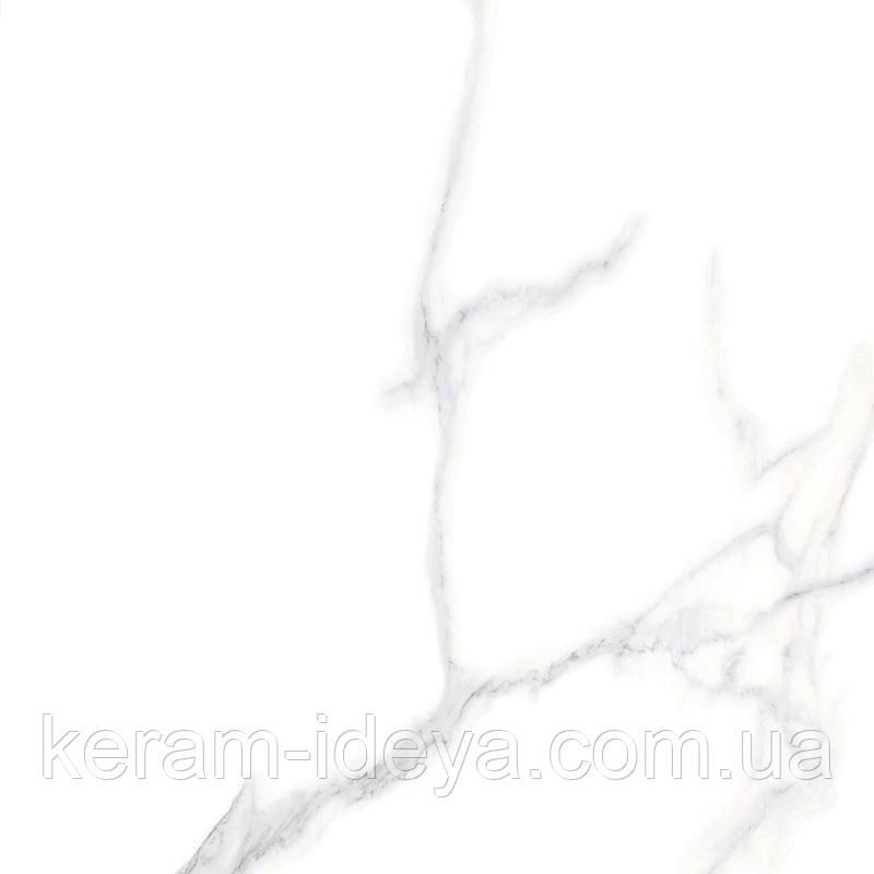 Плитка универсальная Megagres GPF6012 Carrara 60х60 белый 437352