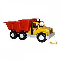 Игрушка для детей автомобиль Maximus 5077 Ураган №1 желто-красный