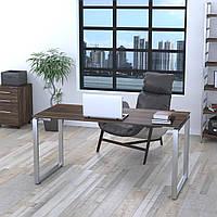 Стол письменный Q-160 столешница 16мм Loft design Орех Модена, фото 1