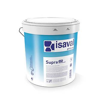 Краска акриловая глубокоматовая  антигрибковая СУПРА  ISAVAL 15л до 180м2/слой