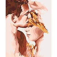 Набор для творчества «Картина по номерам– «Идеальная пара» 40*50см.