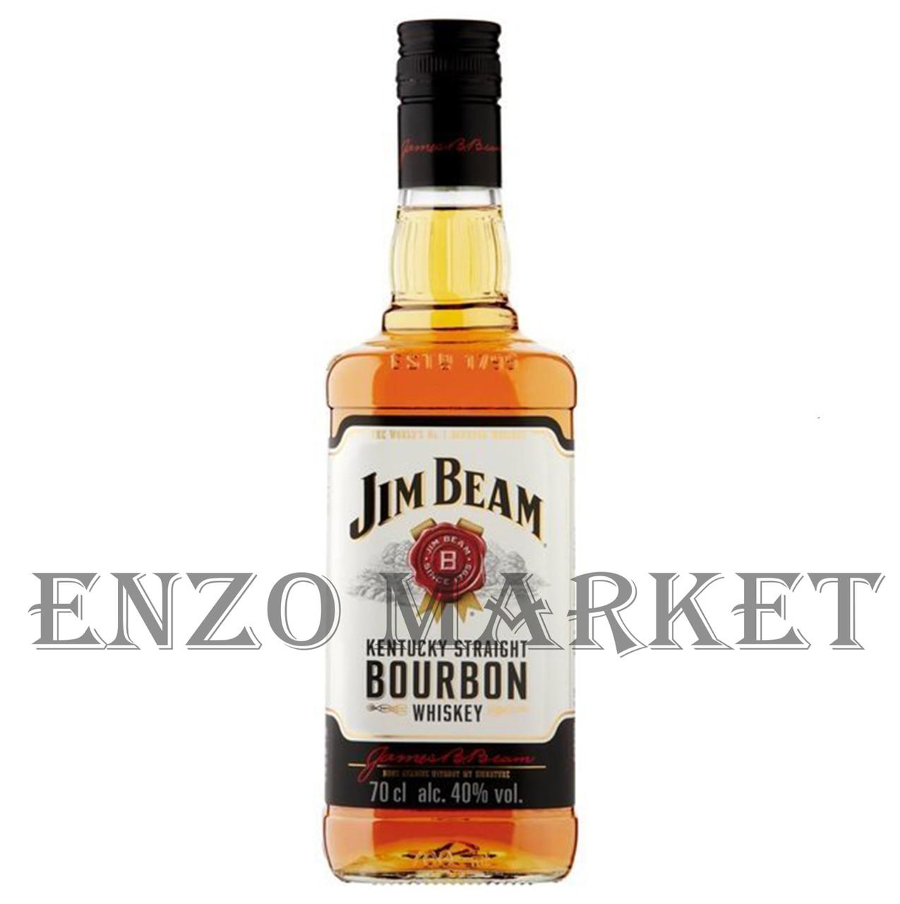 Виски Jim Beam (Джим Бим) 40%, 1 литр