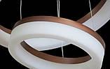 Современная светодиодная люстра с диммером, 130W, фото 2
