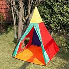Детская игровая палатка Ecotoys Iglo 3 in 1 домики, туннели для детей, фото 5
