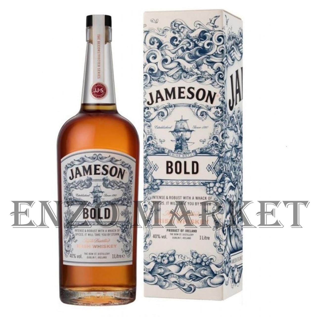 Виски John Jameson Deconstructed Series BOLD (Джон Джеймсон Деконструктед Сериес БОЛД) 40%, 1 литра