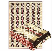 Одеяло Ярослав полушерстяное 170x205 см Бежевый-Коричневый (Yar1231/2.1)
