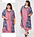 Платье большого размера В-2308 (2 цвета), фото 4