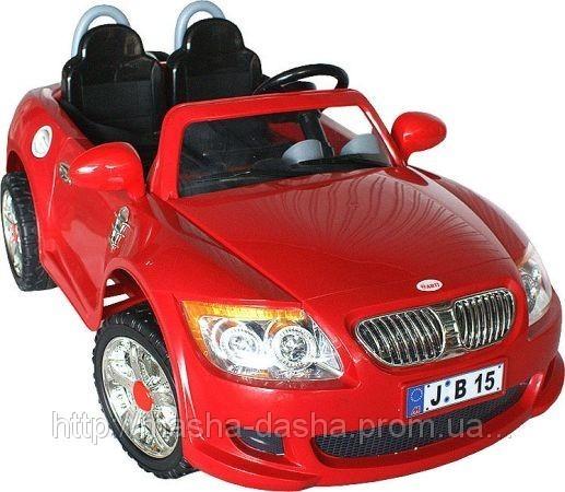 Детский Электромобиль BMW B-15 двухместный на радиоуправлении.