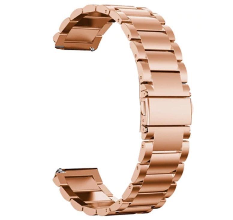 Металевий ремінець Primo для годин Xiaomi Huami Amazfit Bip / Amazfit GTS - Rose Gold