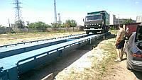 Бесфундаментные автомобильные весы - 20 м , на 80 тонн ( металлическая платформа), фото 1