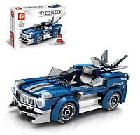 Конструктор типа лего Машинка 607033, 169 деталей