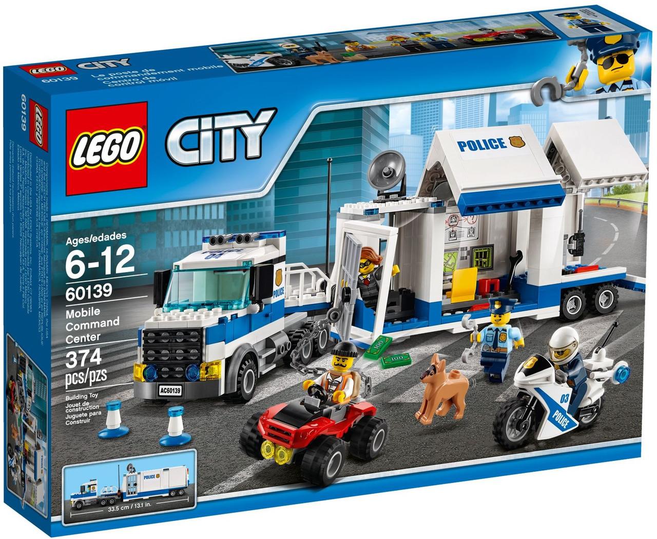 Lego City Мобільний командний центр 60139
