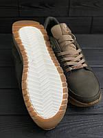 Мужские кожаные кроссовки Splinter, Хаки