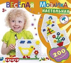 """""""Веселая мозаика"""" (элементы: 200шт, диаметр 12мм)"""