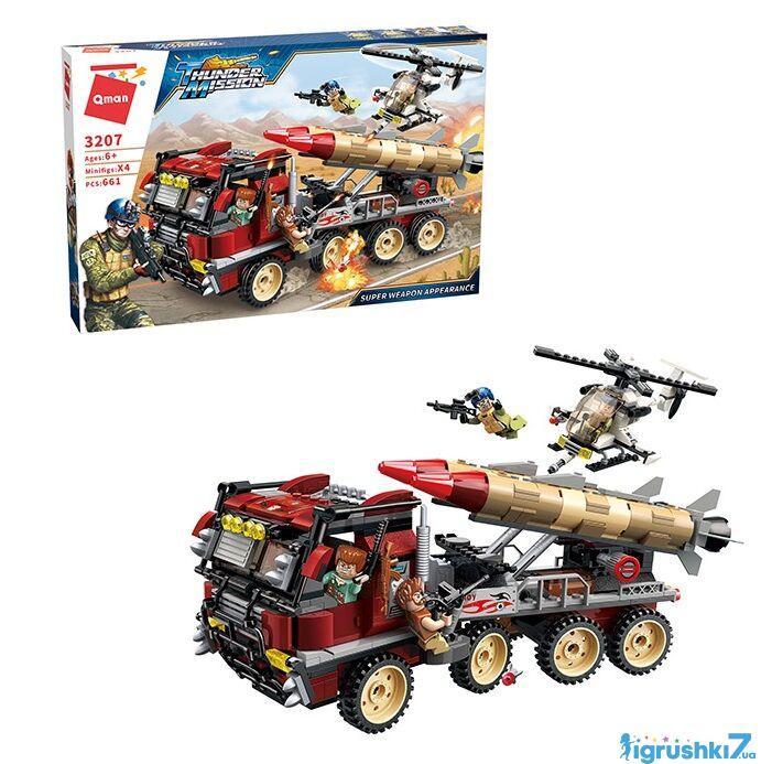 Конструктор Brick Thunder Mission 3208 Военная техника 661 деталей