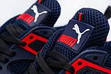 Мужские кроссовки Пума Puma сетка размеры 40,41,42,43,44,45, фото 3