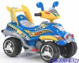 Детский электромобиль-квадроцикл LW 830 Geoby, фото 3