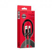 USB кабель Borofone BU12 Synergy Type-C (1,2 м, сірий)