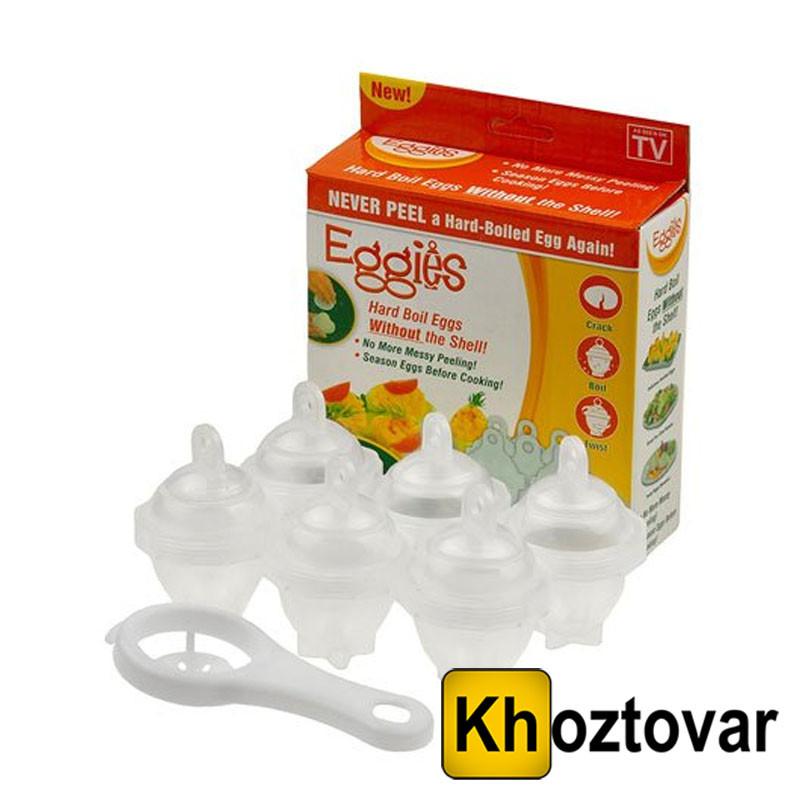 Яйцеварка без скорлупы – пластиковые контейнеры «Eggies»
