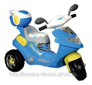 Детский электромобиль Трицикл Geoby W 326, фото 2